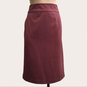 Dresses & Skirts - Mauve JESSICA LONDON Full Lined Straight Skirt!
